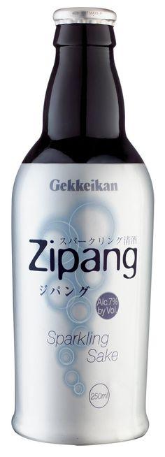 Gekkeikan Zipang Sparkling Sake.  Thank you Jenna for introducing me to this yummy cocktail!