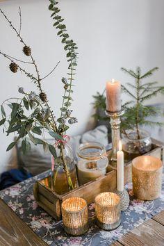 Weihnachtsdekoration und ein schnelles DIY, Pomponetti #fridayflowers #deko