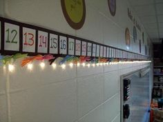 Give your number line a makeover! This made-to-order light up number line from Mrs. A adds extra lighting to your classroom while still operating a...