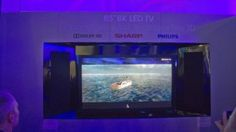 Sharp 8K glasses-free 3D TV 85 inch
