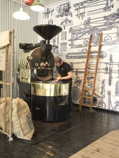 Toby's Estate Coffee Very cool place.