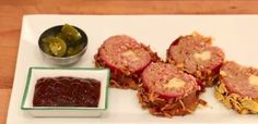 Zabalí hovädzie mäso do slaniny a syra! Tapas, Pickling Jalapenos, Bbq Bacon, Sushi, Beef, Cooking, Ethnic Recipes, Food, Appetizers