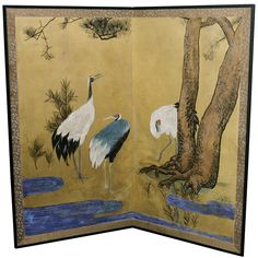 1stdibs.com | Japanese Meiji Period Screen