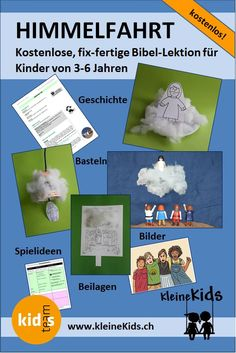 Kindergarten, Writing, Learning, Ascension Of Jesus, Bible Stories For Children, Christian Parenting, Kids Bible, Children Church Lessons, Bible Stories