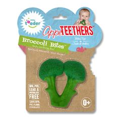 Little Toader broccoli teething toy