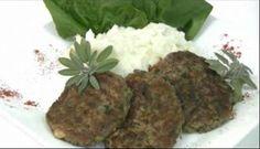 Hamburguesas caseras con legumbres  Hamburguesas de carne y legumbres.
