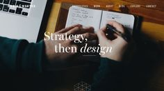 Image via Grain & Mortar Choosing the right typeface for your website, apps and other digital platforms will provide a strong visual. Ux Design, Free Design, Graphic Design, User Experience, Web Design Inspiration, Design Development, Typography, Things To Come, Cards Against Humanity