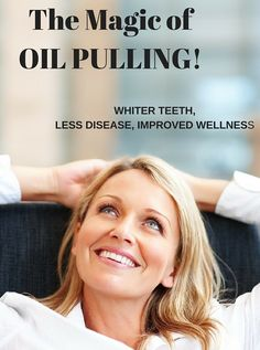 We Love OIL PULLING!  http://sublimebeautynaturals.com/oilpulling