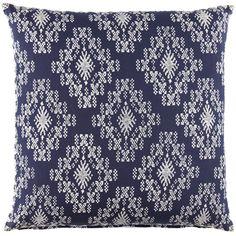 John Robshaw Pillow, Cobalt