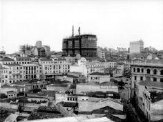 Edifício Martinelli em construção - 1925