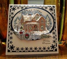 Gingerbread House by GailNM - Cards and Paper Crafts at Splitcoaststampers