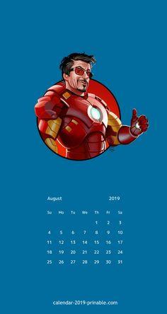 august 2019 iphone calendar wallpaper