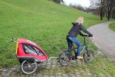Bike with Child Trailer