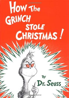 How the Grinch Stole Christmas by Dr. Seuss #Books #Kids #Christmas #Dr_Seuss