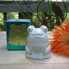 Enchanted Frog by Avon in Original Box on Etsy, $6.50