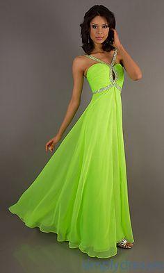 Blue and lime green prom dress | Best dress ideas | Pinterest ...