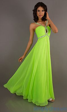 Blue and lime green prom dress   Best dress ideas   Pinterest ...