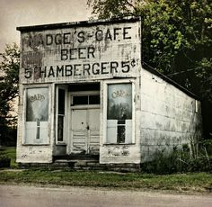 Abandoned country cafe ~