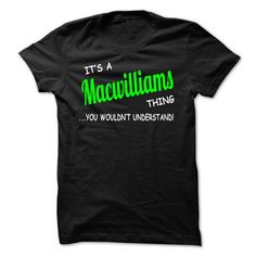 Cool Macwilliams thing understand ST420 T shirts