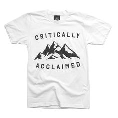 Hand screen printed in the UK with only the softest inks onto the finest quality garments. This t-shirt features our Mountain Range graphic designed especially for the Spring / Summer 2012 collection.  £20.00