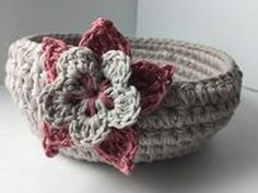 Ophelia Talks about a Crochet Bowl (the flower)
