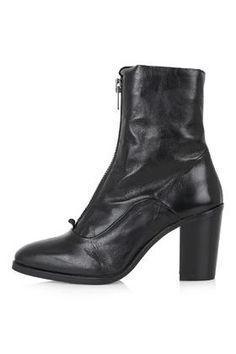 MAGNETIC Zip Front Boots