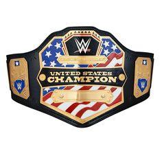 WWE United States Championship Replica Title Belt (2014) with Free Pouch Bag Wwe United States Championship, Wwe Championship Belts, World Heavyweight Championship, Wwe Belts, Dojo, Wwe Logo, Wwe World, Professional Wrestling, Lucha Libre