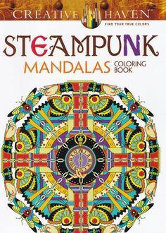 CH 147 kleurboek steampunk mandalas