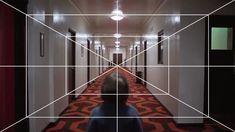 Kubrick . One-Point Perspective - artnau | artnau