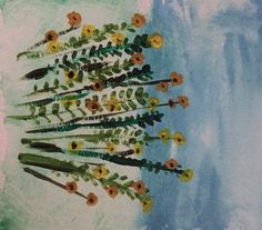 Day 13 of the 100 Day Project #water #color #colour #flowers