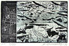 Britta Mahnecke Grafik - Vandmærker 3 1997