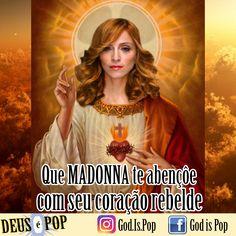 Que Madonna te abençôe com seu coração rebelde. ✨🙏🏻✨ Deus é Pop. #madonna #queenofpop #queen #popmusic #musicapop #musica #music #jesus #god #godispop #deusepop #diosespop