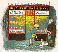 Mother Goose in French - translations by Hugh Latham, illustrated by Barbara Cooney (1964).