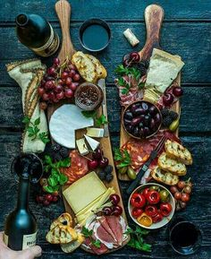 Cheese + fruit + more. Cheese + fruit + more. Party Food Platters, Cheese Platters, Cheese Table, Serving Platters, Cheese Fruit, Meat And Cheese, Aldi Cheese, Cheese Food, Easy Cheese
