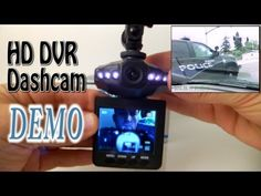 "HD Infrared Dash Cam DVR with 2.5"" LCD Screen DEMO - YouTube"