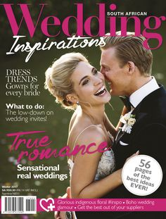 Wedding Inspirations Winter 2017 Cover