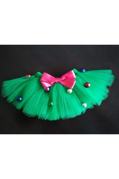 A Christmas tree tutu I want this for my daughter