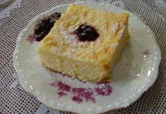 Vargabéles áfonyalekvárral Hungarian Recipes, Cheesecake, Dishes, Sweet, Desk, Cakes, Food, Candy, Desktop