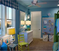 Nice blue boy´s room