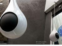 Products: Diffusore acustico Goccia - Drop speaker - Diffusore in ceramica di Faenza - Faenza Ceramics loudspeaker - Faenza, Italy - 2005 - Garvan Acoustic