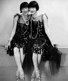 In 1911 the Dolly Sisters were signed to appear in Ziegfeld Follies for two seasons