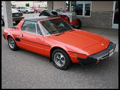 1979 Fiat X1-9  fix it again tony.  i bet i paid college tuition for my mechanic's kid, it was a total money pit!  worst car ever!