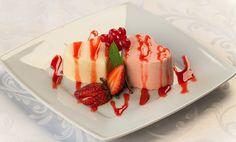 Włoski deser panna cotta