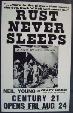 Neil Young & Crazy Horse - Rust Never Sleeps -