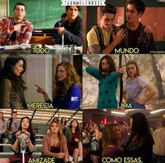 Quase impossível ter uma amizade assim! Arte Teen Wolf, Teen Wolf Dylan, Teen Wolf Stiles, Teen Wolf Cast, Dylan O'brien, Teen Wolf Memes, Teen Wolf Tumblr, Teen Wolf Quotes, Cenas Teen Wolf