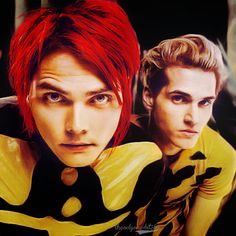 Gerard and Mikey Way from My Chemical Romance