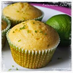 FromMyKitchen   : Calamansi Cuppies
