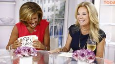 Spanx, vodka & singing: KLG & Hoda's year in gifs