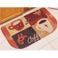 Coffee Kitchen Rugs   Cafe Coffee Rug, kitchen accent rug coffee kitchen decor door mat