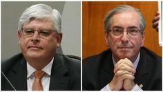 Rodrigo Janot acusa Eduardo Cunha de obstrução da Lava Jato. Fotos: Estadão